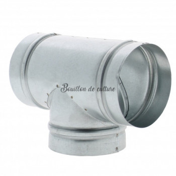 Té de ventilation Ø 150mm -...